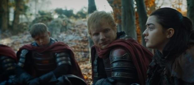 "Ed Sheeran cameos in the Season 7 premiere of ""Game of Thrones."" (Photo:YouTube/GameofThrones)"