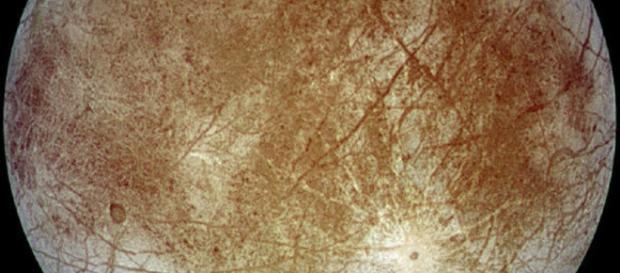Europa moon of Jupiter (Courtesy NASA)