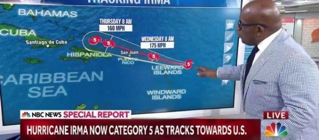 Hurricane Irma Strengthens to Category 5, Has Puerto Rico In Its ... - nbcnews|LIve