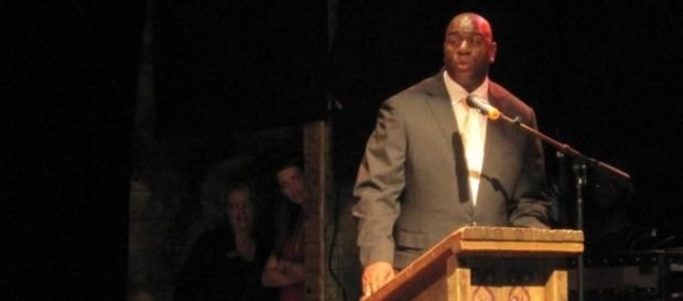 Lakers' Magic Johnson apologizes over tampering issue (Image Credit - Raul/Wikimedia)