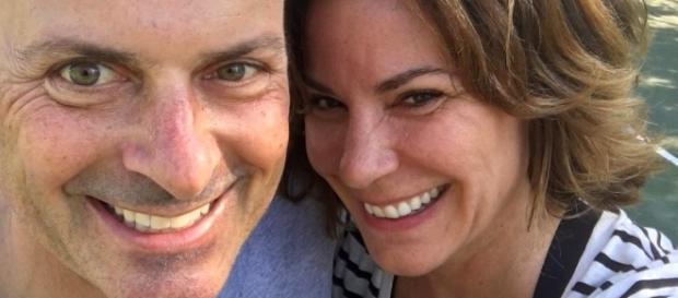 LuAnn De Lesseps poses with husband Tom D'Agostino. [Photo via Instagram]