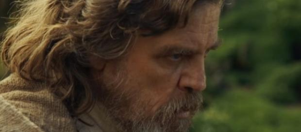 "Mark Hamill as Luke Skywalker in ""Star Wars: The Last Jedi."" (Photo:YouTube/KinoCheck)"