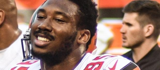 Myles Garrett has had foot issues dating back to his stint at Texas A&M -- Erik Drost