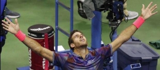 No Rafa vs. Roger at US Open: del Potro beats Federer New York 2017 QF Highlights HD  Tennis Time   YouTube