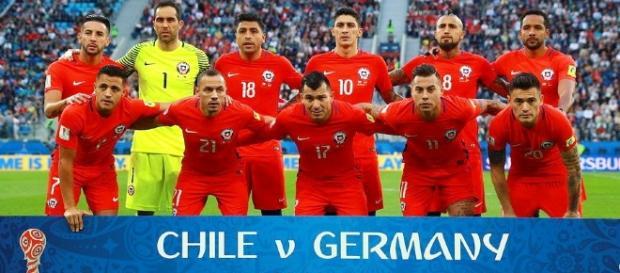 Selección de Chile en la final de la Copa Confederaciones (vía-equiposdefutbol2.blogspot).