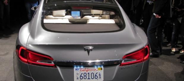 Tesla Sedan by Steve Jurvetson/Flickr