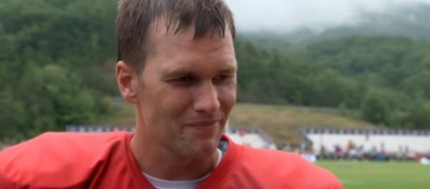 Tom Brady and the Patriots begin their chase for back-to-back titles tonight. [Image via YouTube]