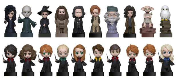 Wizzis: figurine 3D di Harry Potter