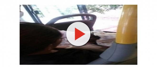 Mulher descobre gravidez após dar à luz dentro de ônibus. Entenda
