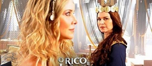 A rainha Amitis fica desconfiado de Sammu-Ramat após revelações de Asher