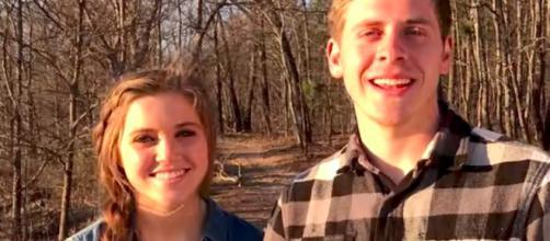 Austin Forsyth and Joy-Anna Duggar Forsyth are expecting a baby. [Image via YouTube/TLC]