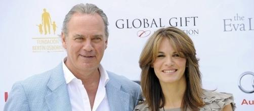 Bertín Osborne y su mujer Fabiola Martínez