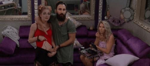 'Big Brother 19' Raven Walton,Paul Abrahamian ** used w/ permission CBS Press