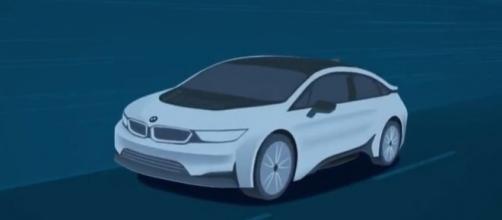 BMW i5 electric car concept. Photo by www.youtube.com/KINGAUTOS國王車訊