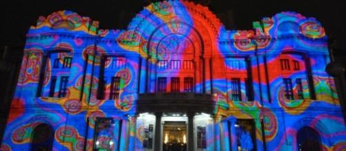 Centro Histórico de la CDMX se ilumina con Filux