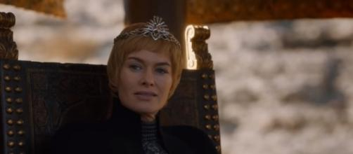 """Cersei Lannister in a scene from the """"Game of Thrones"""" Season 7 finale. (Photo/YouTube/Kristina R)"""