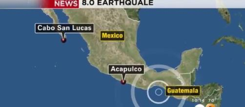 Earthquake With Magnitude Of 8.0 Rattles Southern Mexico CBS Los Angeles | YouTube