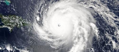 Hurricane Irma churning toward Miami, Florida https://en.wikipedia.org/wiki/File:Irma_2017-09-06_1745Z.jpg