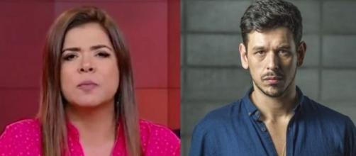 Mara Maravilha e João Vicente de Castro (Reprodução - SBT/Divulgação/TV Globo)
