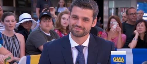 Peter Kraus breaks silence after Arie Luyendyk Jr. was named as new Bachelor. (YouTube/Good Morning America)