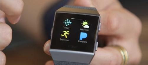 The Ionic is Fitbit's take on a true smartwatch. (via ArsTechnica/Youtube)