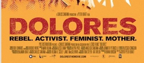 Theatrical poster for 'Dolores' documentary (By permission: PBS/Independent Lens)