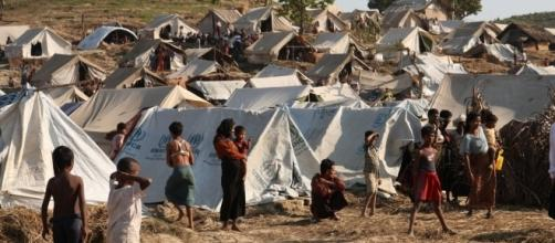 Tung Pauw Camp in Rakhine state by Foreign Commonwealth Office