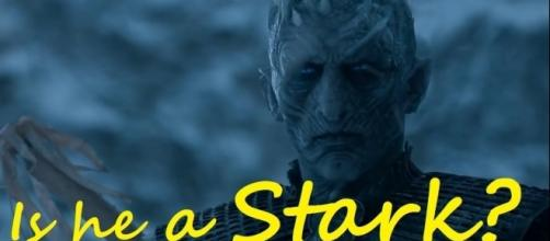 We still don't know who the Night King is. However, fans claimed that he is a former member of House Stark. - In Deep Geek/YouTube Screenshot