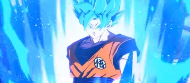 Dragon Ball FighterZ Gameplay Trailer Super Saiyan Blue Goku vs Vegeta (SSGSS) - YouTube/Anime Games Online