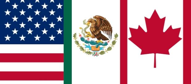 Flag of the North American Free Trade Agreement by Keepscases/Wikimedia Commons