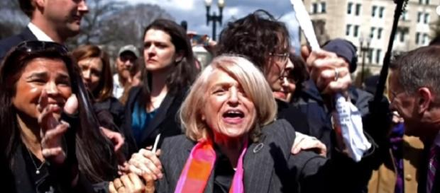 Gay Rights Pioneer Edie Windsor Dead At 88 [Image via YouTube: NBC News]