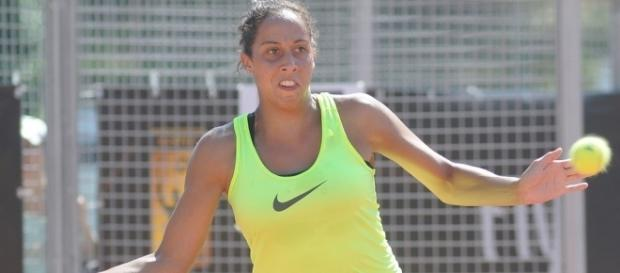Madison Keys could reach No. 9 if she wins the US Open crown -- Kulitat via WikiCommons