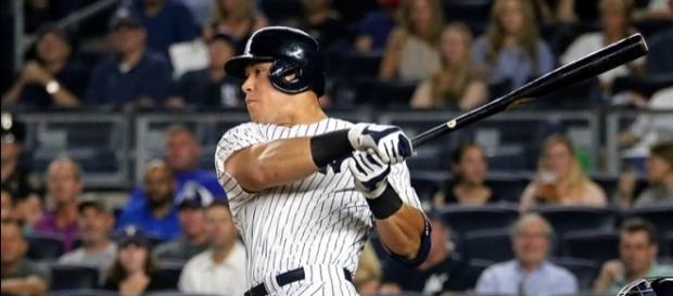 Rookie Aaron Judge hit his 39th homer of the season -- Arturo Pardavila via WikiCommons