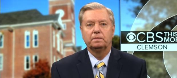 """Sen. Graham says U.S. """"absolutely"""" prepared to act against North Korea Image - CBS This Morning   YouTube"""