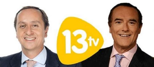 Antonio Jiménez y Carlos Cuesta 13 TV