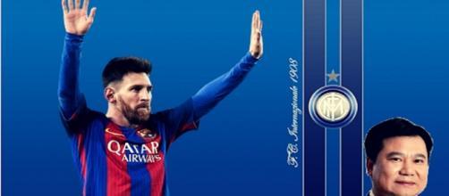 Caressa parla della mancata trattativa tra Messi e l'Inter