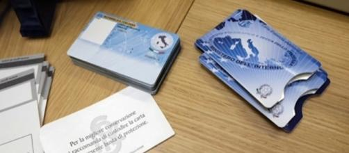 Carta d'identità elettronica, fac-simile