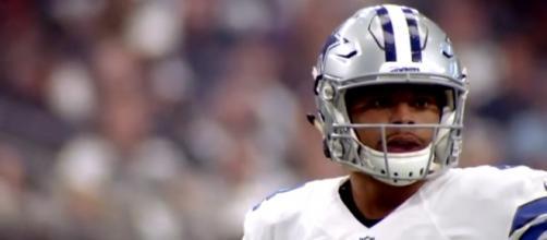 Dallas Cowboys quarterback Dak Prescott. Image Credit: YouTube Screenshot -- @NFL