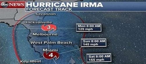 Hurricane Irma is powerful storm [Image: News Flood Houston/YouTube screenshot]