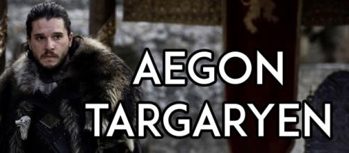 Jon Snow's real name is Aegon Targaryen, but his name can also refer to several people who lived long before him.- GoT Academy/Youtube Screenshot
