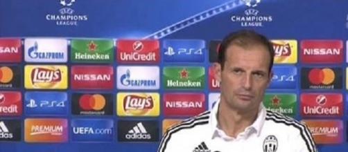 L'allenatore della Juventus Massimiliano Allegri