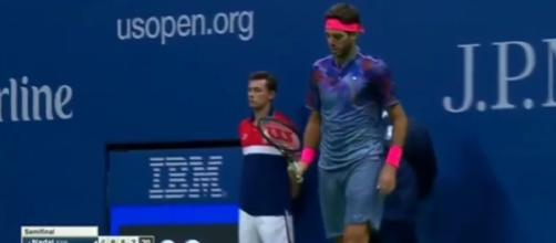 Rafael Nadal vs Juan Martin Del Potro Full Match SET 4 - Men's Semifinals -Image |US Open 2017 | Youtube