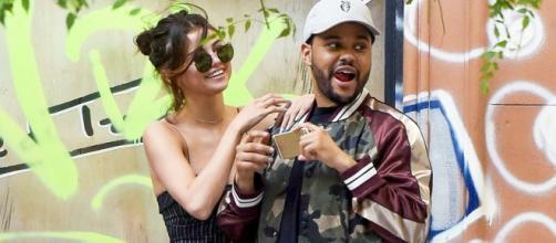 Selena Gomez and The Weeknd- YouTube screenshot | Hollyscoop/https://www.youtube.com/watch?v=Bb3p7dUkrJo