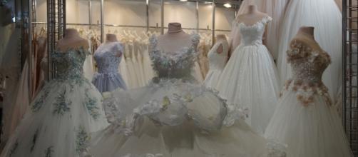Wedding dress found safe in closet after flooding from Hurricane Harvey | Photo via Pixabay
