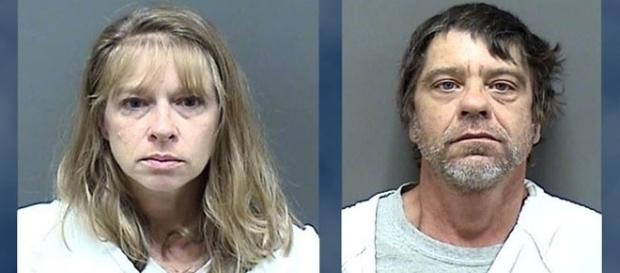 A caregiver and home owner kept a 9-year-old girl locked in a cage [Image courtesy Racine County Sheriffs Office]