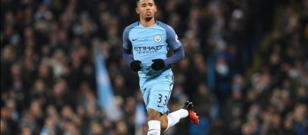 Gabriel Jesus marcou 2 gols na goleada do City