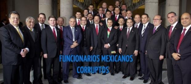 Los Catedráticos de la Corrupción, tan solo 25 de estos gobernadores saquearon a sus Estados con un Billón de Pesos Mexicanos, siguen Impunes