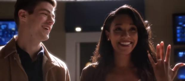 The Flash 3x15 Team Flash Finds Out Barry & Iris are Engaged - Part #2 - YouTube/Furious Clips
