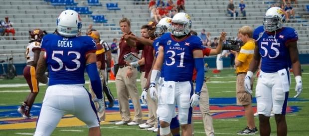 The Kansas Jayhawks lost on Saturday for their 42nd straight road loss. -- Brent Flanders via Flickr