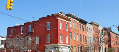 The historic Butchers Hill located in the southeastern part of Baltimore. [Image Credit; Smallbones/Wikimedia Commons]
